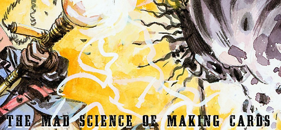 The Mad Science of Making Cards pt 1